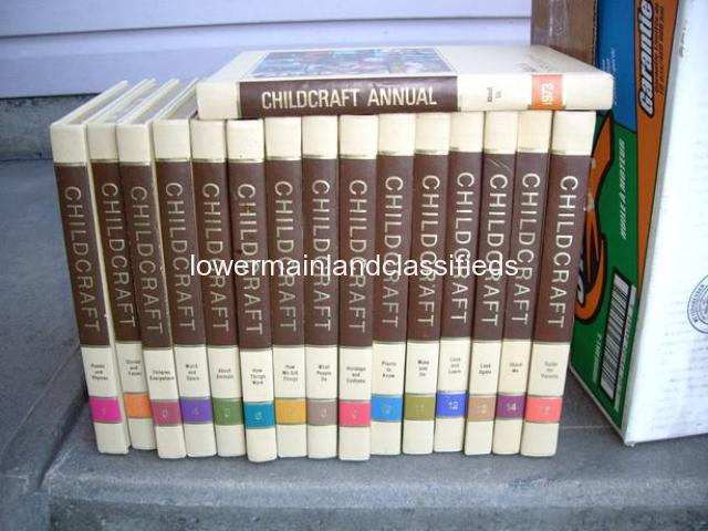 1972 Childcraft Encyclopedia Collection in Excellent Condition